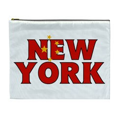 New York China Cosmetic Bag (XL)