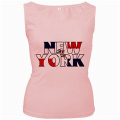 New York Dr Womens  Tank Top (Pink)