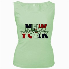 New York Dr Womens  Tank Top (Green)