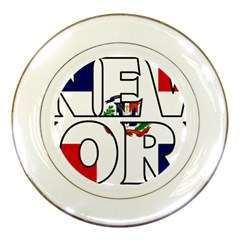 New York Dr Porcelain Display Plate