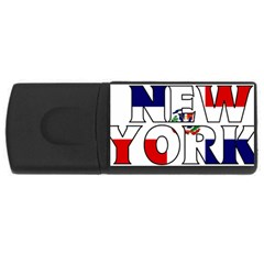 New York Dr 4GB USB Flash Drive (Rectangle)