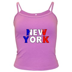 New York France Spaghetti Top (Colored)