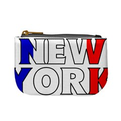 New York France Coin Change Purse