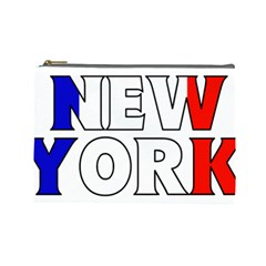 New York France Cosmetic Bag (Large)