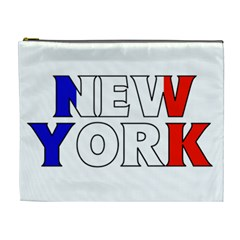 New York France Cosmetic Bag (xl)