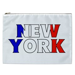 New York France Cosmetic Bag (XXL)