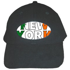 New York Ireland Black Baseball Cap