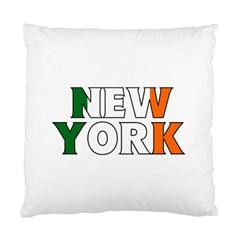 New York Ireland Cushion Case (one Side)
