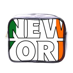 New York Ireland Mini Travel Toiletry Bag (one Side)