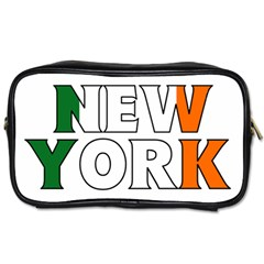 New York Ireland Travel Toiletry Bag (one Side)
