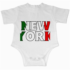 New York Italy Infant Creeper