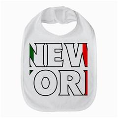 New York Italy Bib