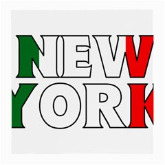 New York Italy Glasses Cloth (medium)