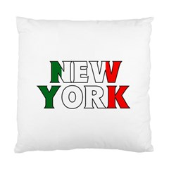 New York Italy Cushion Case (One Side)