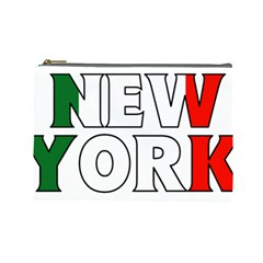 New York Italy Cosmetic Bag (Large)