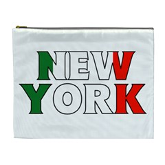 New York Italy Cosmetic Bag (XL)