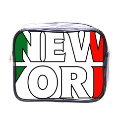 New York Italy Mini Travel Toiletry Bag (One Side)