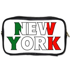 New York Italy Travel Toiletry Bag (One Side)