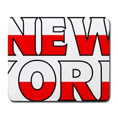 New York Poland Large Mouse Pad (Rectangle)