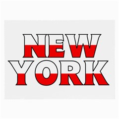 New York Poland Glasses Cloth (Large)