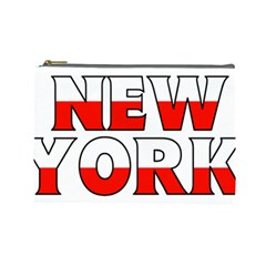 New York Poland Cosmetic Bag (Large)