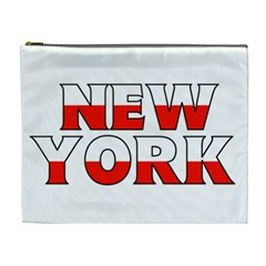 New York Poland Cosmetic Bag (xl)
