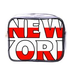 New York Poland Mini Travel Toiletry Bag (One Side)
