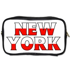 New York Poland Travel Toiletry Bag (one Side)