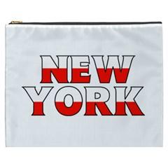 New York Poland Cosmetic Bag (XXXL)