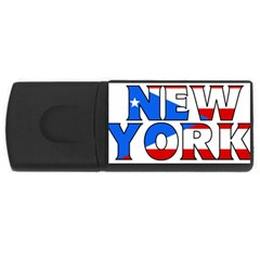 New York Pr 4GB USB Flash Drive (Rectangle)