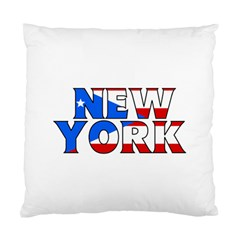 New York Pr Cushion Case (one Side)