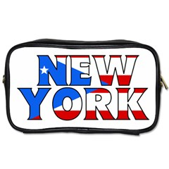 New York Pr Travel Toiletry Bag (One Side)