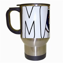 Massachusetts Travel Mug (White)
