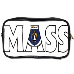 Massachusetts Travel Toiletry Bag (One Side)