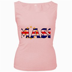 Mass Cape Verde Womens  Tank Top (pink)