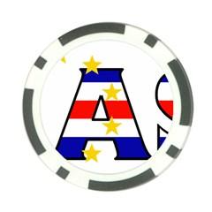 Mass Cape Verde Poker Chip