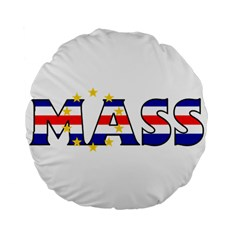 Mass Cape Verde 15  Premium Round Cushion