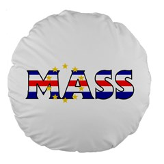 Mass Cape Verde 18  Premium Round Cushion