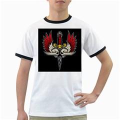 Gothic dagger Mens' Ringer T-shirt