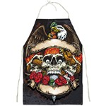 Gothic skull Apron Front