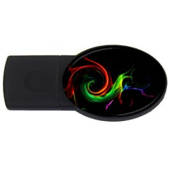 L232 4GB USB Flash Drive (Oval)