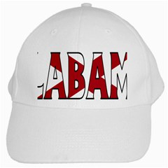 Alabama White Baseball Cap