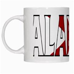 Alabama White Coffee Mug