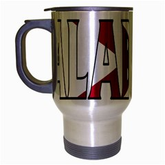 Alabama Travel Mug (Silver Gray)