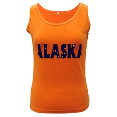 Alaska Womens  Tank Top (dark Colored)