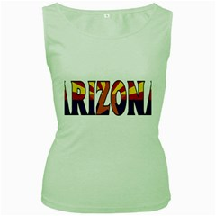 Arizona Womens  Tank Top (Green)