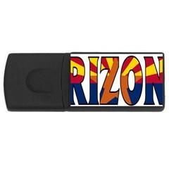 Arizona 1GB USB Flash Drive (Rectangle)