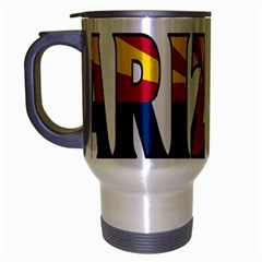 Arizona Travel Mug (Silver Gray)