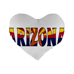 Arizona 16  Premium Heart Shape Cushion