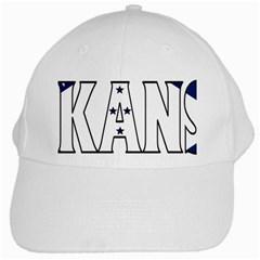 Arkansas White Baseball Cap